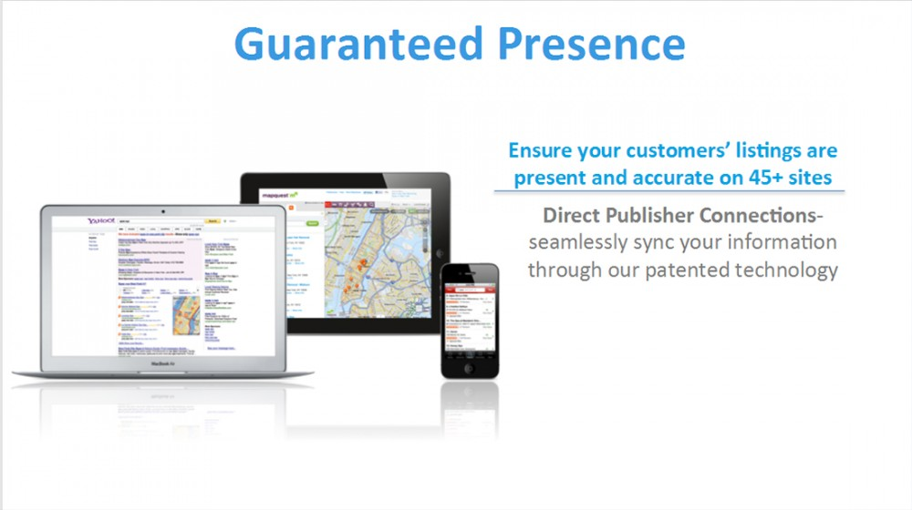 Guaranteed Presence in Local Search Results Including Google Maps