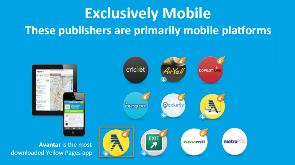 Exclusively Mobile Platforms for Local Search
